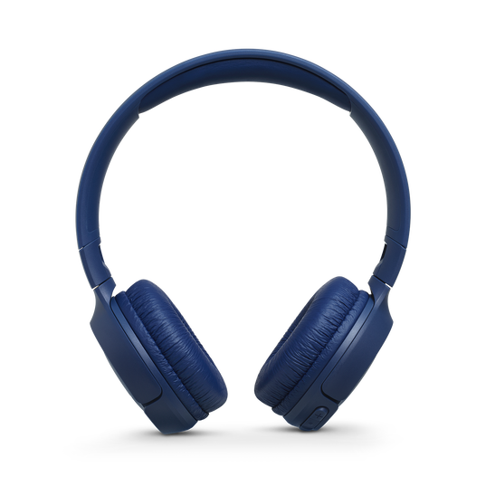 JBL TUNE 560BT - Blue - Wireless on-ear headphones - Front