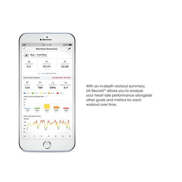 Under Armour Sport Wireless Heart Rate - White - Heart rate monitoring, wireless in-ear headphones for athletes - Detailshot 6