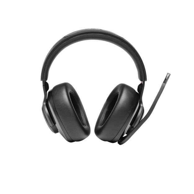 JBL Quantum 400 - Black - USB over-ear gaming headset with game-chat dial - Front