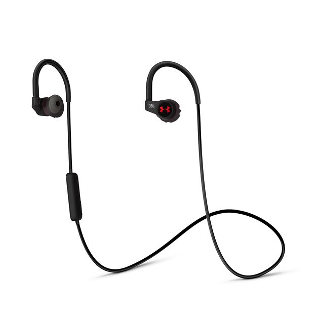 Under Armour Sport Wireless Heart Rate - Black - Heart rate monitoring, wireless in-ear headphones for athletes - Hero
