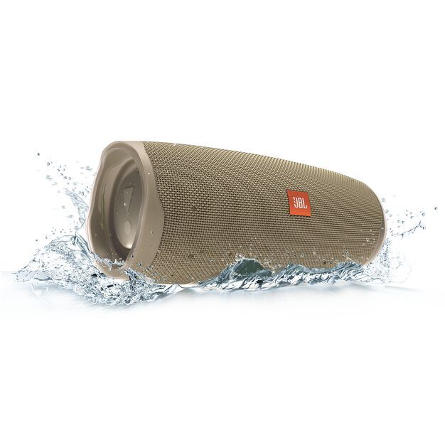 JBL Charge 4 - Sand - Portable Bluetooth speaker - Detailshot 5