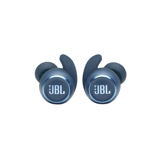 JBL Reflect Mini NC - Blue - Waterproof True Wireless In-Ear NC Sport Headphones - Detailshot 6