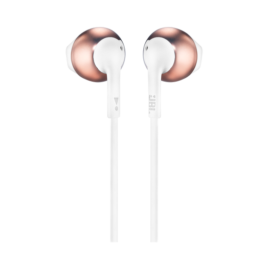 JBL TUNE 205 - Rose Gold - Earbud headphones - Back