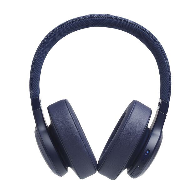 JBL LIVE 500BT - Blue - Your Sound, Unplugged - Front