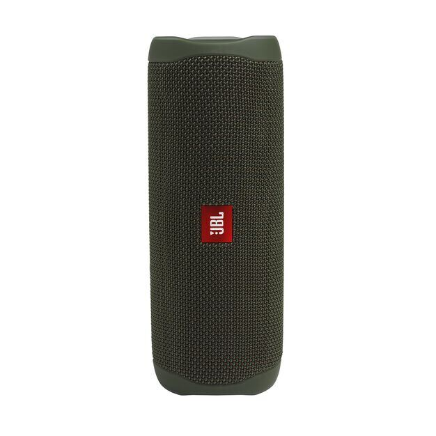 JBL FLIP 5 - Green - Portable Waterproof Speaker - Hero