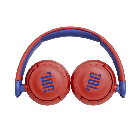 JBL Jr310BT - Red - Kids Wireless on-ear headphones - Detailshot 2