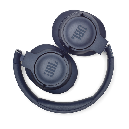 JBL TUNE 750BTNC - Blue - Wireless Over-Ear ANC Headphones - Detailshot 2