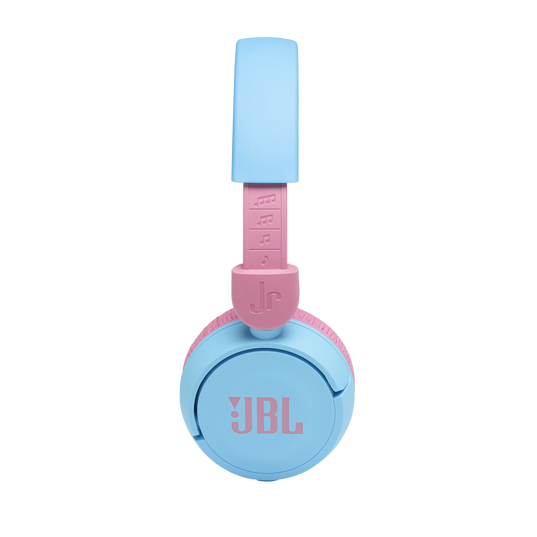 JBL Jr310BT - Red - Kids Wireless on-ear headphones - Detailshot 1