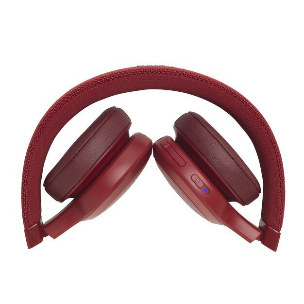 JBL LIVE 400BT - Red - Your Sound, Unplugged - Detailshot 3