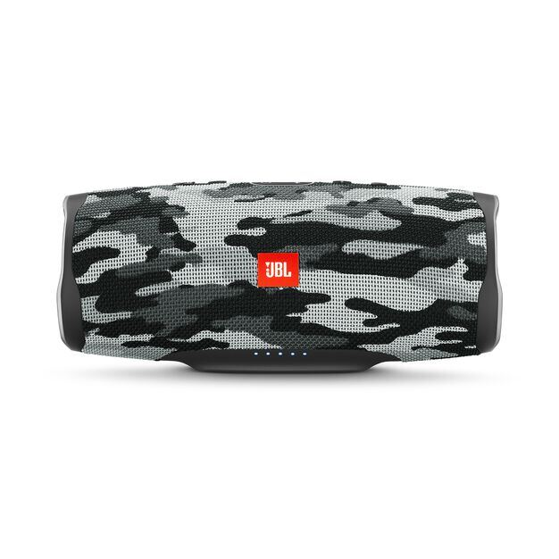 JBL Charge 4 - Black/White Camouflage - Portable Bluetooth speaker - Hero