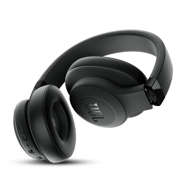 JBL E500BT - Black - Wireless over-ear headphones - Back