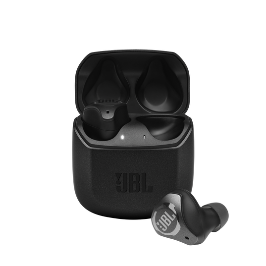 JBL Club Pro+ TWS - Black - True Wireless In-Ear NC Headphones - Hero