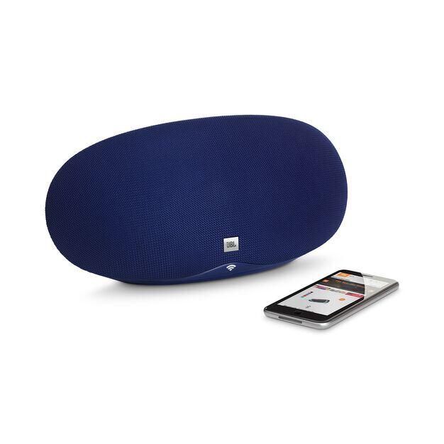 JBL Playlist - Blue - Wireless speaker with Chromecast built-in - Detailshot 1