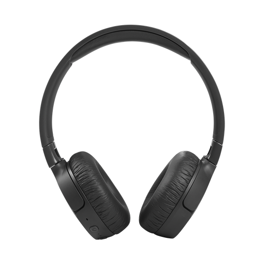 JBL Tune 660NC - Black - Wireless, on-ear, active noise-cancelling headphones. - Front