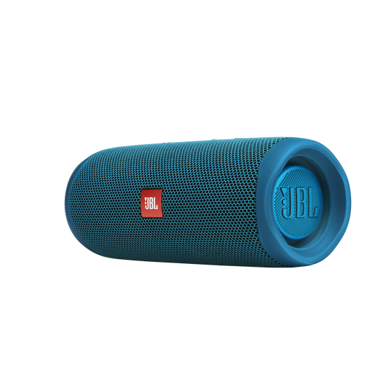 JBL Flip 5 Eco edition - Ocean Blue - Portable Speaker - Eco edition - Left