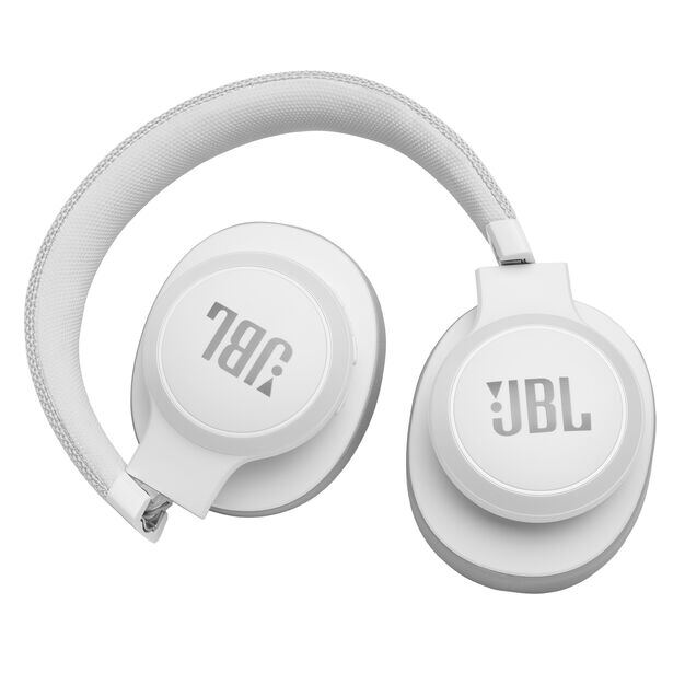 JBL LIVE 500BT - White - Your Sound, Unplugged - Detailshot 1