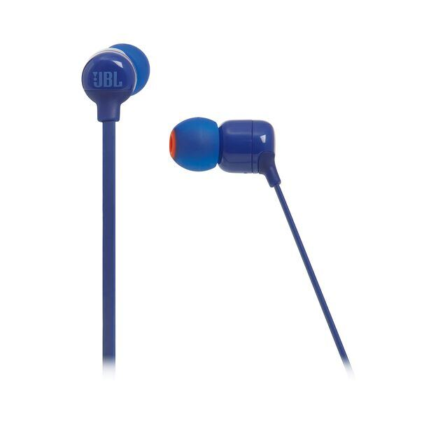 JBL TUNE 160BT - Blue - Wireless in-ear headphones - Detailshot 3