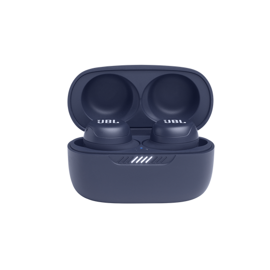 JBL Live Free NC+ TWS - Blue - True wireless in-ear NC headphones - Detailshot 3