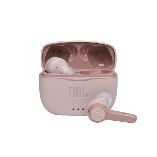 JBL Tune 215TWS - Pink - True wireless earbud headphones - Hero