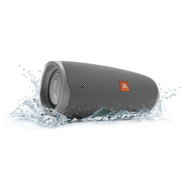 JBL Charge 4 - Grey - Portable Bluetooth speaker - Detailshot 5