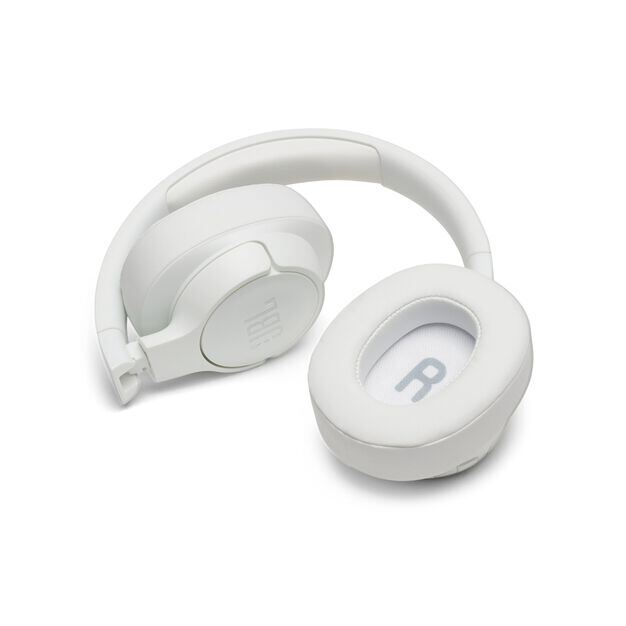 JBL TUNE 750BTNC - White - Wireless Over-Ear ANC Headphones - Detailshot 5