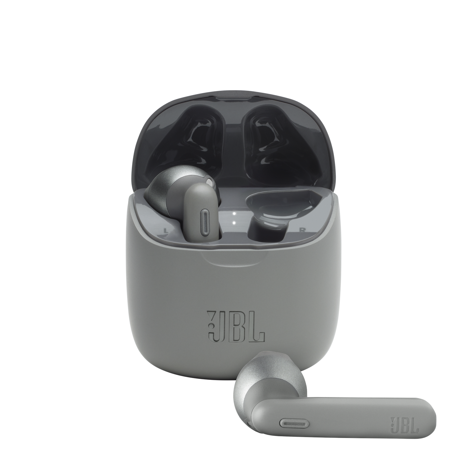 JBL TUNE 225TWS - Grey - True wireless earbud headphones - Hero